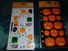 Stickopotamus Stickers For Binder Halloween Party and Jack O Lanterns 2 packages