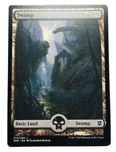 MTG. Zendikar Rising. ZNR. 273. Swamp.