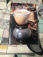 Modern Coffee Maker Hario Heat Treated Glass Pot Rich Professional Taste Wooden