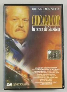 """PRL) DVD VIDEO """"CHICAGO COP IN CERCA DI GIUSTIZIA"""" BRIAN DENNEHY FILM MOVIE CINE"""