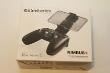 SteelSeries Nimbus+ 69089 Wireless Gaming Controller for Apple - Black OPEN BOX