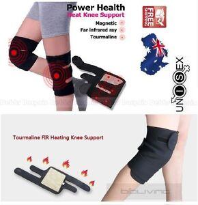 FIR Tourmaline Self Heating Magnetic Knee Support Brace Pain  Relief Arthritis