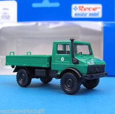 Roco H0 1658 MB UNIMOG U 1300 L POLIZEI Pritsche HO 1:87 OVP truck