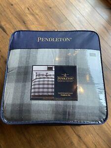 Pendleton Cotton Hawthorne Comforter - King Grey