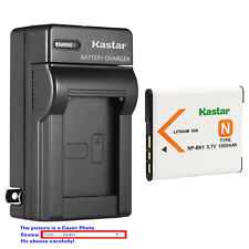 Kastar Battery Wall Charger for Sony NP-BN1 BC-CSN & Sony Cyber-shot DSC-W830