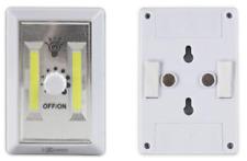 2pk COB LED Dimmer Wall Switch Wireless Closet Night Light Multi-Use Self-Stick