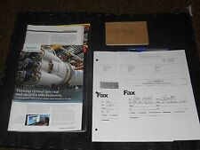 Transcendence Joel (Cory Hardrict) Movie Props Magazin Paperwork Pen Notbook