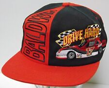 Rare Vtg 1990s Baldwin Oil Filter Nascar Racing Snapback Trucker Hat Made In Usa