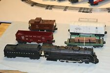 Lionel set 2165WS 736 loco and tender and 4 cars