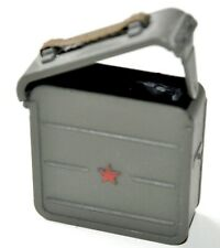 1/6 SCALE DRAGON RUSSIAN WWII - BOX AMMO W/ RED STAR