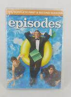 Episodes The Complete First and Second Seasons DVD 2013 Sealed