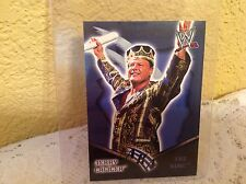 WWE JERRY LAWLER ROYAL RUMBLE 2002 AKA THE KING FLEER TRADING CARD  & HOLDER