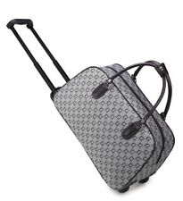 New Holiday Wheeled Holdall  weekend luggage travel Cabin Trolley Bag Case UK