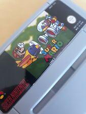 Super Mario Land 3 Tatanga's retorno SNES Super Nintendo videojuego versión PAL