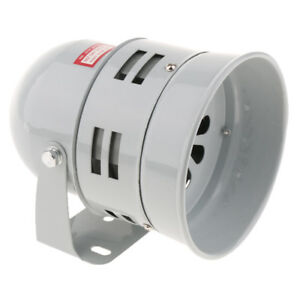 12V 110dB Industrial Loud Security Sound Alarm Buzzer Siren Wall-mounted