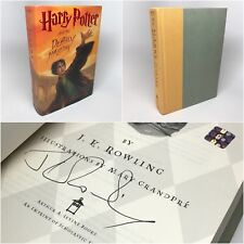 Harry Potter Deathly Hallows SIGNED by J.K. Rowling 2007 US Tour Hologram RARE