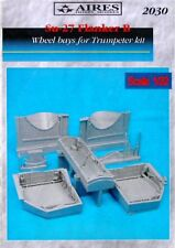 Aires 1/32 Sukhoi Su-27 Flanker B Wheel Bays For TRUMPETER kit # 2030