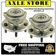 2 New Wheel Hub Bearing Assembly Fit Ford Range 4WD No ABS Front Pair Warranty