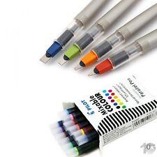PILOT 4er Set Kalligraphie-Füllhalter Parallel Pen + 1x 12 Tintenpatronen