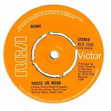 "Bowie - Knock On Wood - 7"" Record Single"