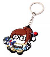 """Overwatch Mei Rubber Keychain 2.5"""" US Seller"""