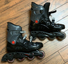 DBX Inline Skates Mothership Wheels 76mm Black & Gray rollerblades Size 12 (Fl)