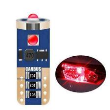 2PCS Tail Side Bulb Super CREE Chip LED Car Lights T10 W5W 2825 168 Bright Wedge