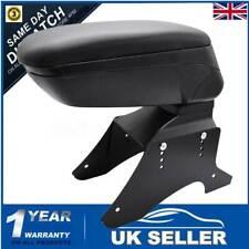 Universal Arm Rest Central Centre Content Car Leather New Black Boxed Armrest