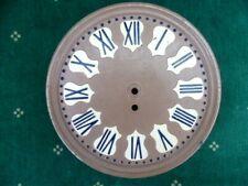 Façade en fonte d'horloge mécanique à clé diamètre:22,5 cm - 1,630 kg  1930/1950