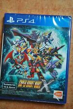 (Asian English Version) Super Robot Wars X. New Product.