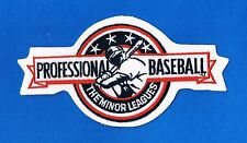 PROFESSIONAL BASEBALL - THE MINOR LEAGUES AUTHENTIC PATCH