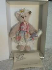 """Annette Funicello Margaret Victorian 12"""" Mohair Bear with Tag, Coa, and Box"""