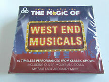 The Magic Of West End Musicals - Various - Sealed (3 x CD Album) Used Very Good