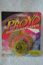 YOYO GENUINE PROYO REPLACEMENT PARTS 3 BLACK/YELLOW STRINGS NEW