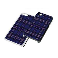 Tartan Purple Phone Case Cover for iPhone 4 5 6 7 8 iPod iPad Galaxy S4 S5 S6 S7
