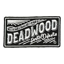 Best In The West Deadwood Sign Patch, South Dakota Patches