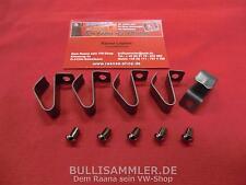 VW Käfer Bus Bulli T1 T2a Halteklammer Klammern Klemmfeder für Radkappen (2503)