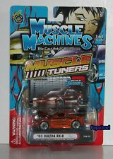 Muscle Machines Tuners RJ DE VERA 2003 Mazda RX-8 Signature Series TO4-12 1:64
