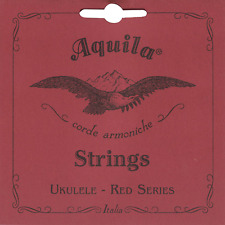 More details for aquila 72u red series nylgut single plain 4th string for ukulele low g tuning