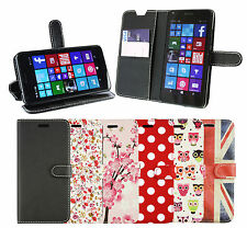 PU Leather Wallet Case Cover for Microsoft Lumia 550/640/640XL/950 many more