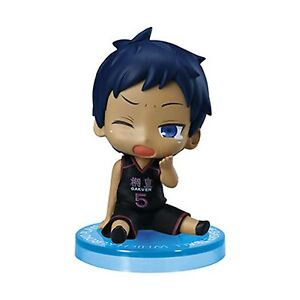Kuroko no Basket Suwarase Team Mini Figure Aomine Daiki Originale Bandai ★