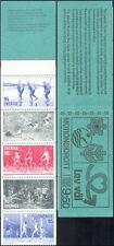 Sweden 1977 Sports/Keep-fit/Cycling/Badminton/Swimming/Skating 10v bklt (b6820b)