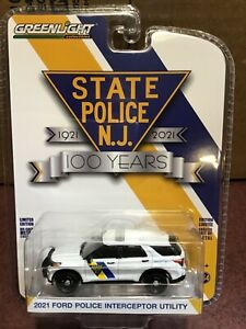 Greenlight Anniversary Ford Utility New Jersey State Police 100 years