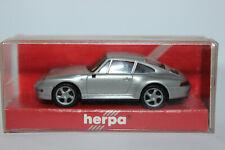 Porsche 911 ( 993 )  Carrera S4  silber  Herpa  1:87