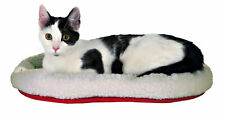Cat And Kitten Cuddly, Reversible, Warm,  Sheepskin-look Bed 45cm