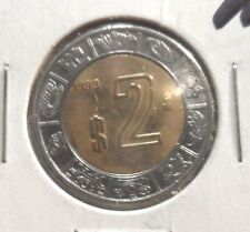 CIRCULATED 1999 $2 MEXICAN COIN! (010116)