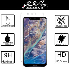Tempered Glass Film Screen Protector Guard For Nokia 8.1 / Nokia X7