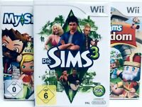 Wii Sims Spiele (My Sims, Die Sims 3, My Sims Kingdom) *BLITZVERSAND + AUSWAHL*