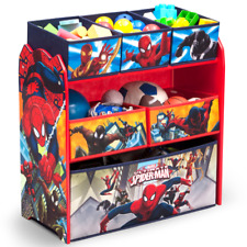 Play Room Toy Organizer Children Kids Bedroom Storage Box Bin Marvel Spider-Man