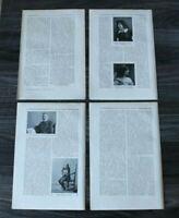 7 Blatt Berlin Musik Winter 1905/06 W Kleefeld Musiker Text Zeitschrift Artikel